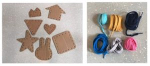 Cardboard Threading Kindergarten Activity