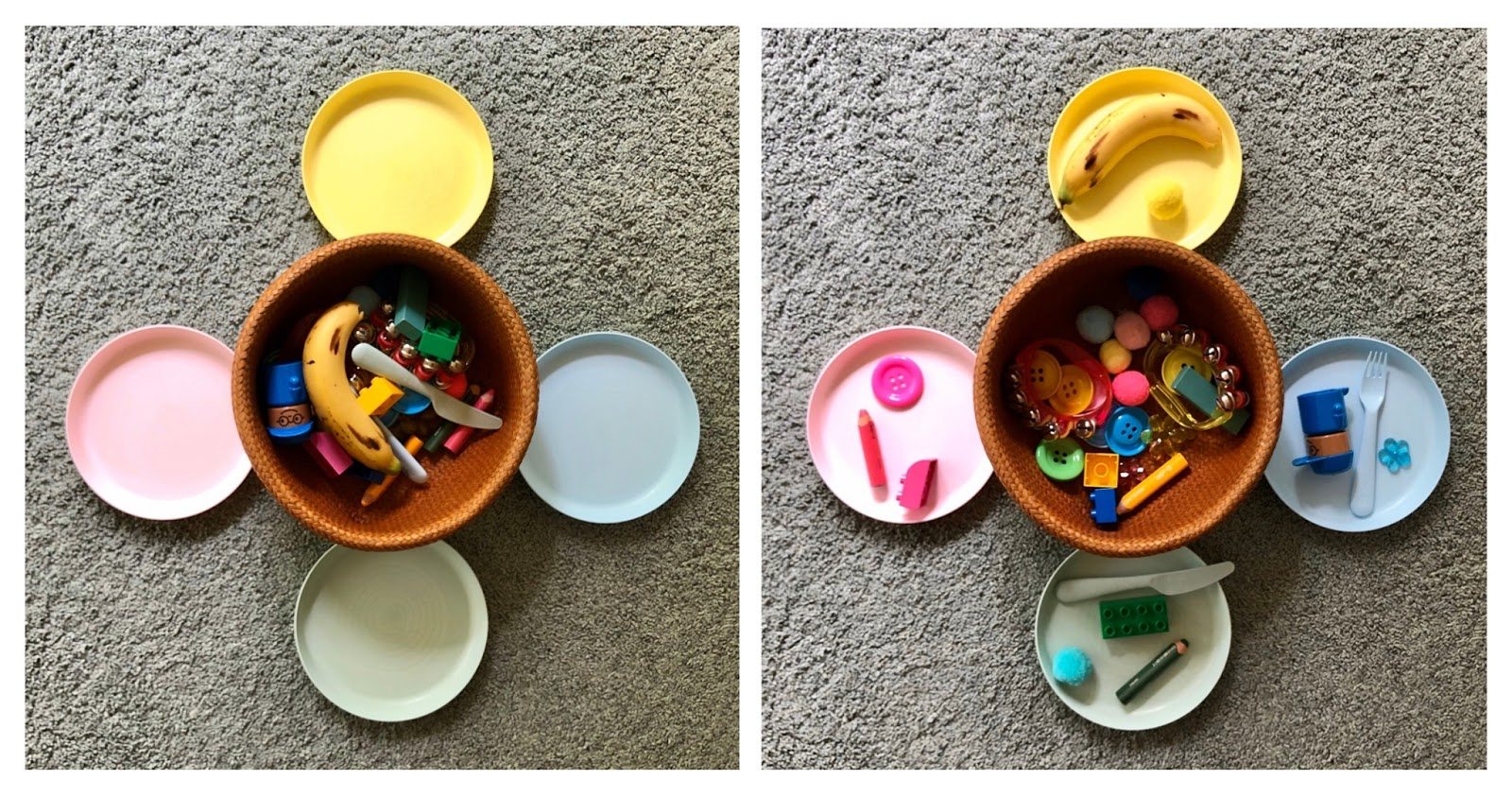Colour Sorting Kindergarten Activity