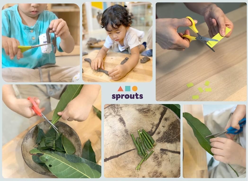 Scissors Kindergarten Activity