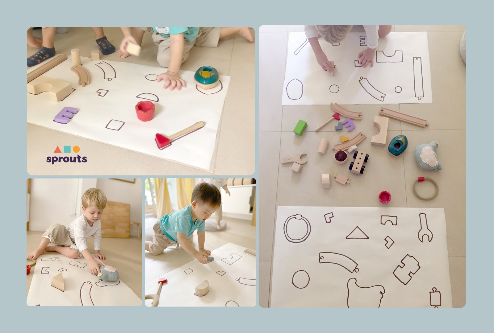 Toy Jigsaw Kindergarten Activity